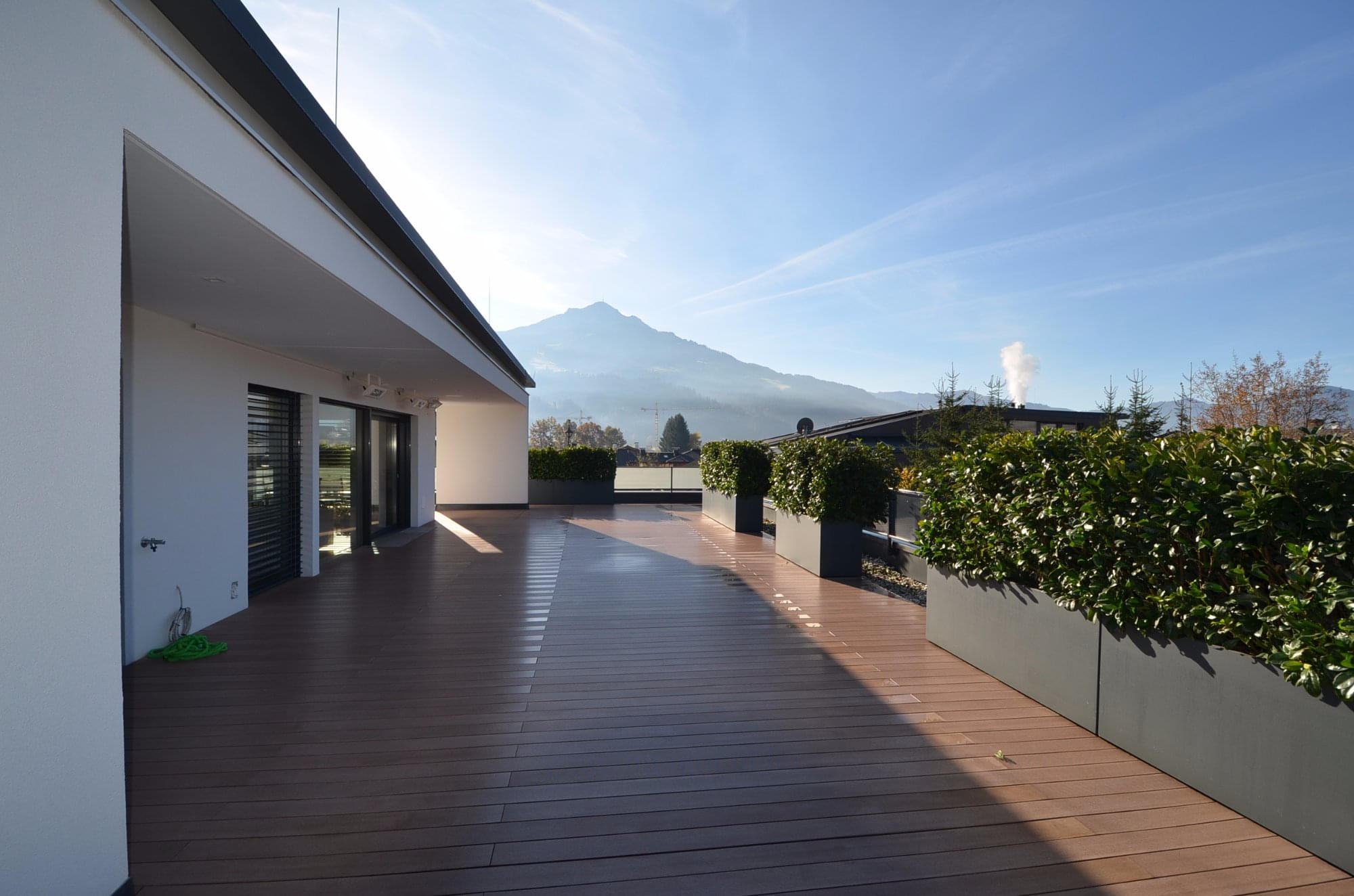 moderne penthouse wohnung, penthouse - wohnung - st. johann, Design ideen